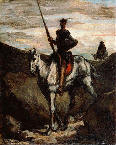 Don Quixote vu par Honoré Daumier