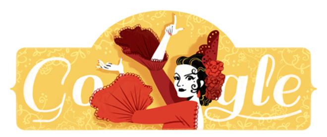 Doodle Lola Flores
