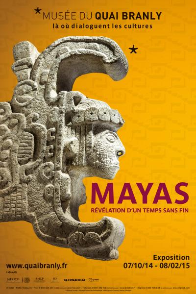 «Los mayas reviven en París», exposition au Musée du Quai Branly