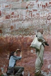 Actualité : «La paix en Colombie permet la découverte d'extraordinaires peintures rupestres»
