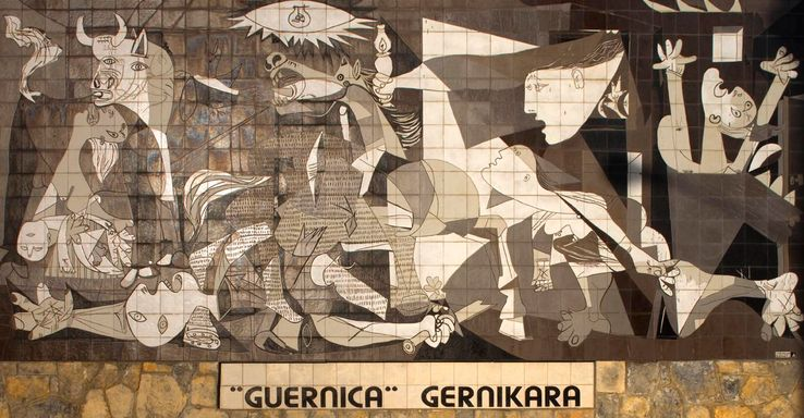 Exposition sur les origines de Guernica