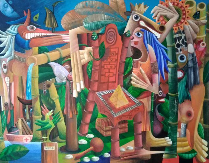 Exposition de Luis Ruiz Saavedra à Paris : «La Otra Jungla o El Otro Grito»