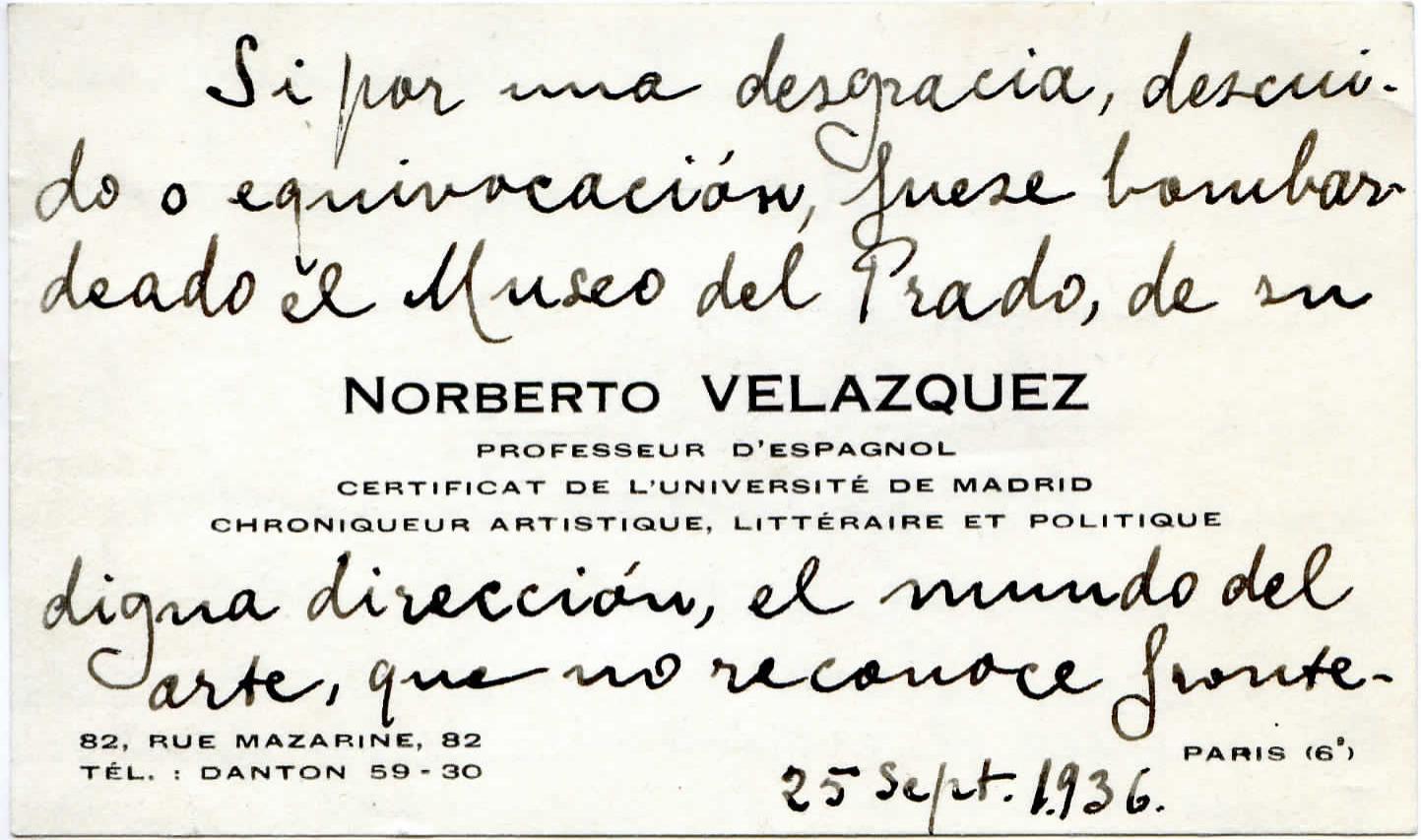 Archives du Prado : Le musée madrilène pendant la guerre civile