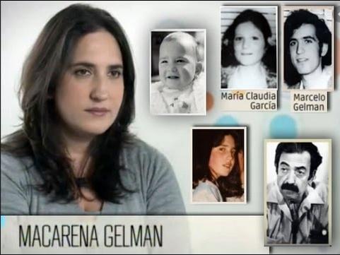 Nietos, historias con identidad. La historia de Macarena Gelman García