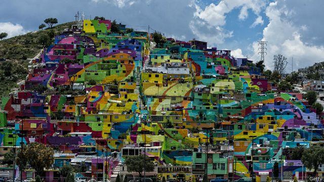 El macromural de Pachuca: cuando el arte cambia la vida de un barrio pobre.